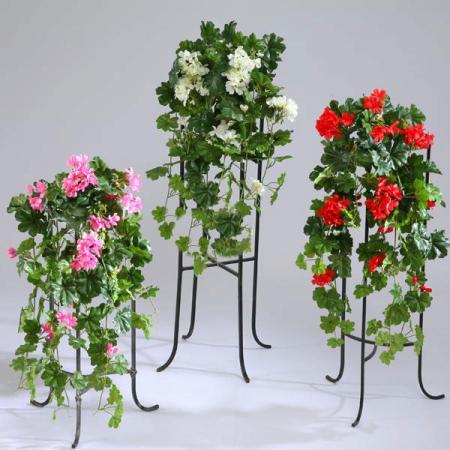 Цветы из акрила кампанула из семян